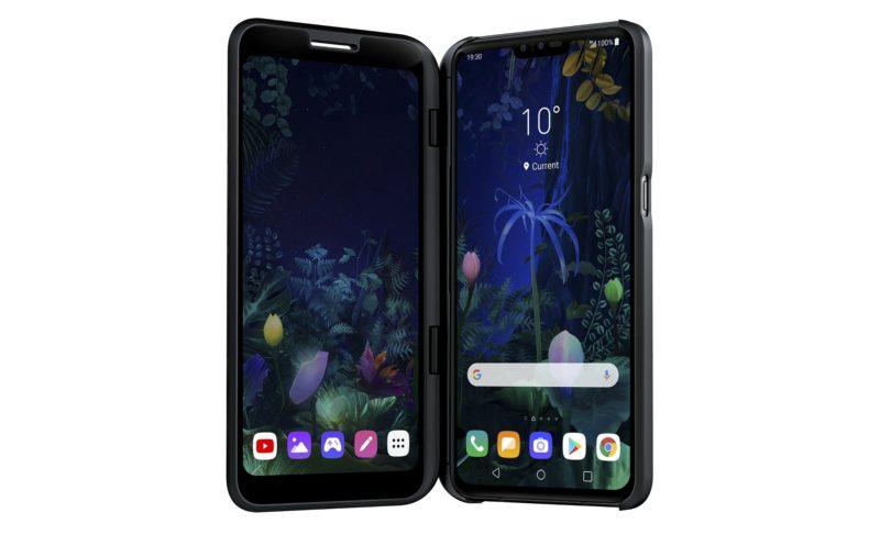 На MWC представили два новых смартфона LG - LG V50 ThinQ 5G и LG G8 ThinQ