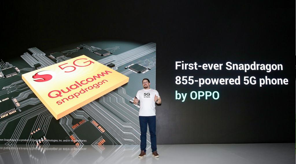Компания OPPO будет первой, кто будет использовать процессор Snapdragon 855 в своем первом смартфоне 5G