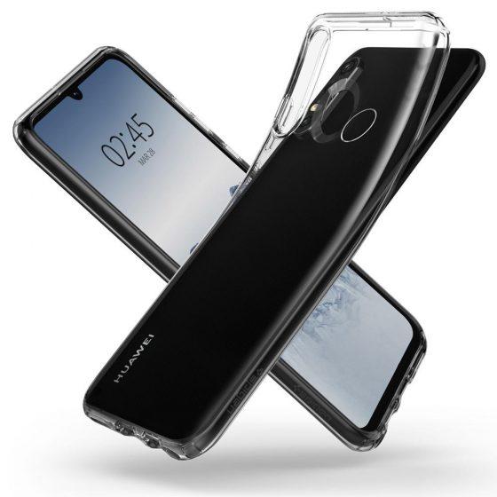 Huawei P30 Lite на визуализации в чехлах Spigen