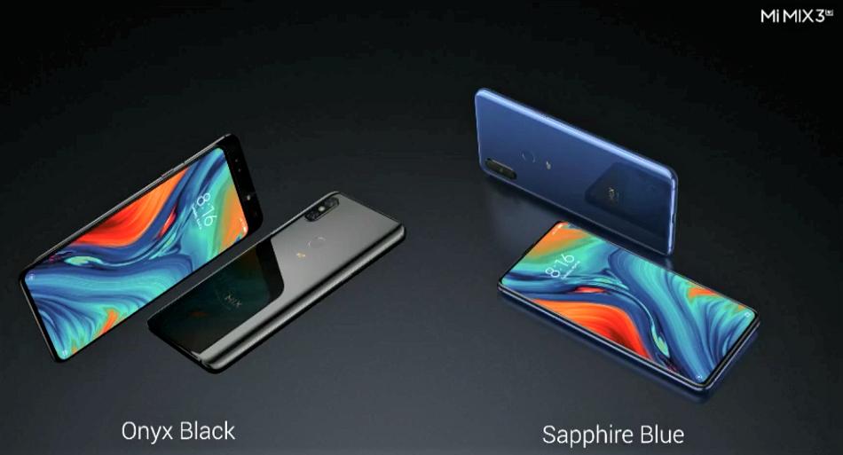 Xiaomi представила новейшие телефоны Mi Mix 3 5G